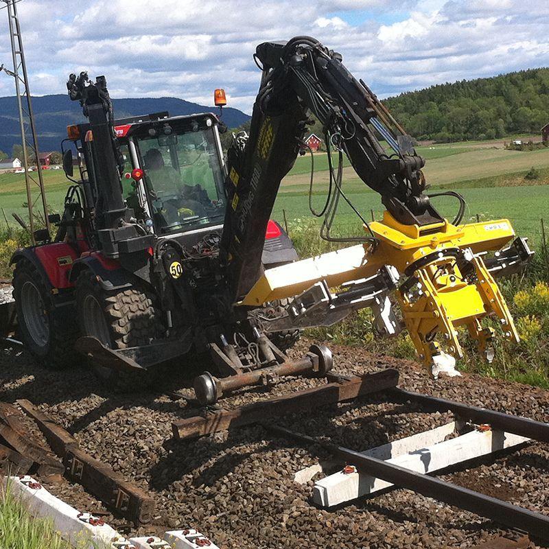 Machine à remplacer les traverses SB60