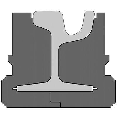 Pandrol QTrack® HP variation for LRT
