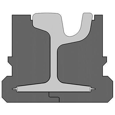 Pandrol QTrack® SP variation for LRT
