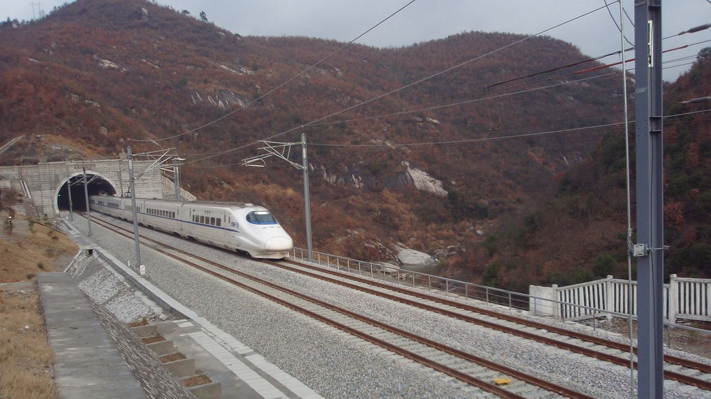 Wuhan - Hefei High Speed, China