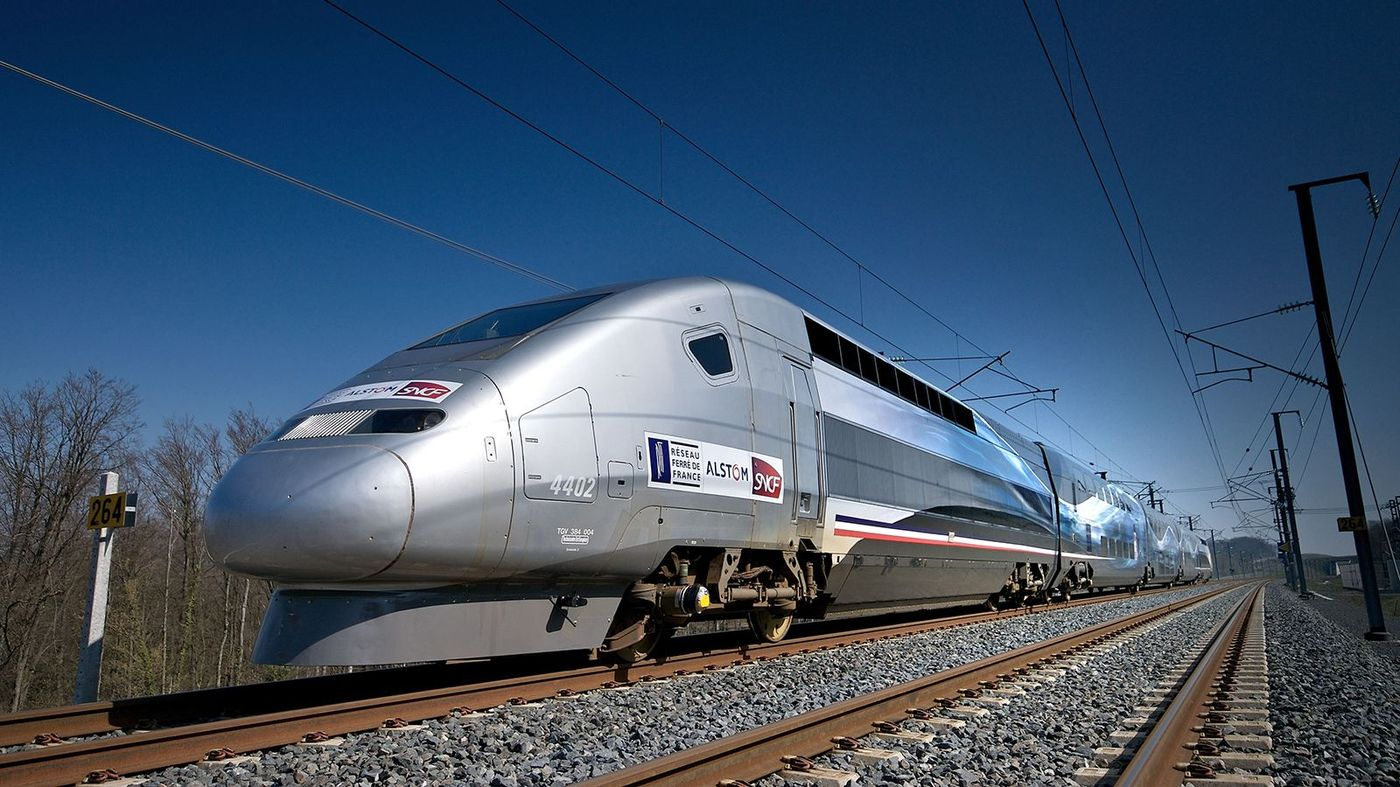 LGV-Est High Speed European Rail Link