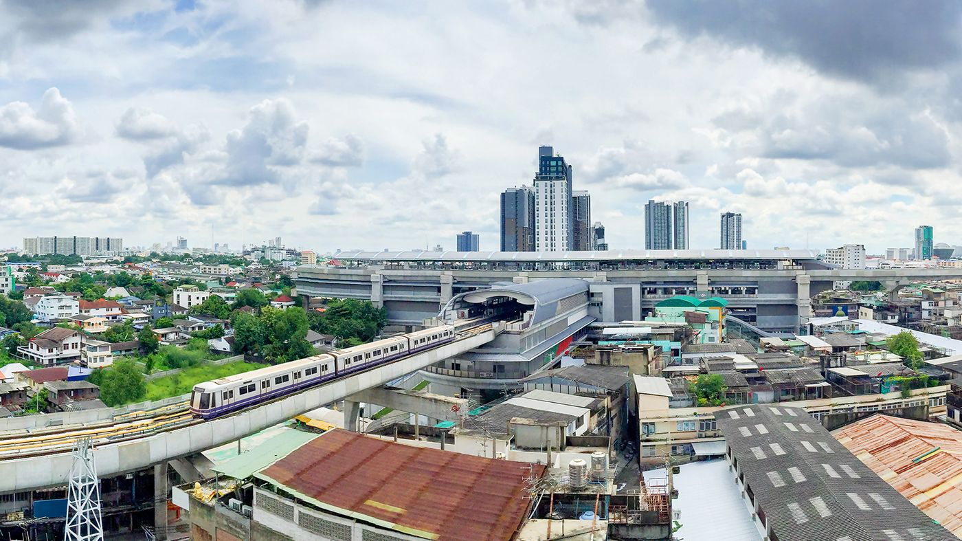 Bangkok MRT, Thaïlande