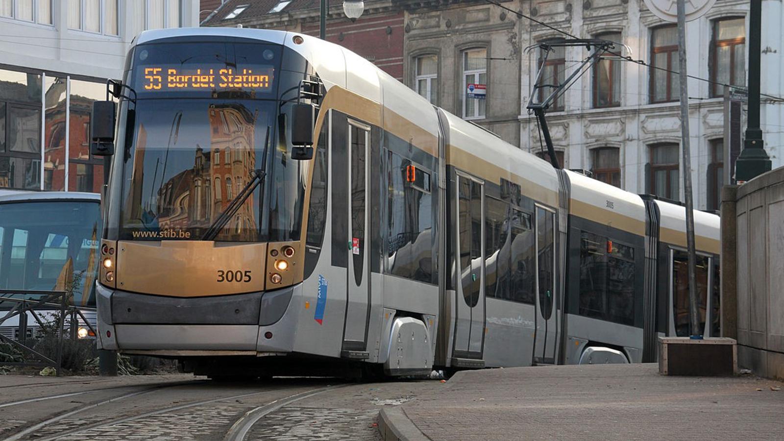 Tranvía de Bruselas