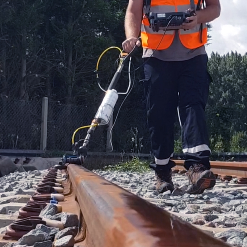 Ultrasonic Rail Testing