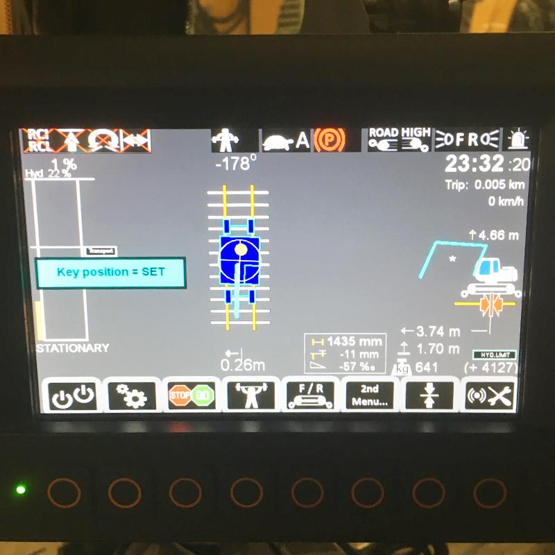 Установка системы RCI для экскаваторов