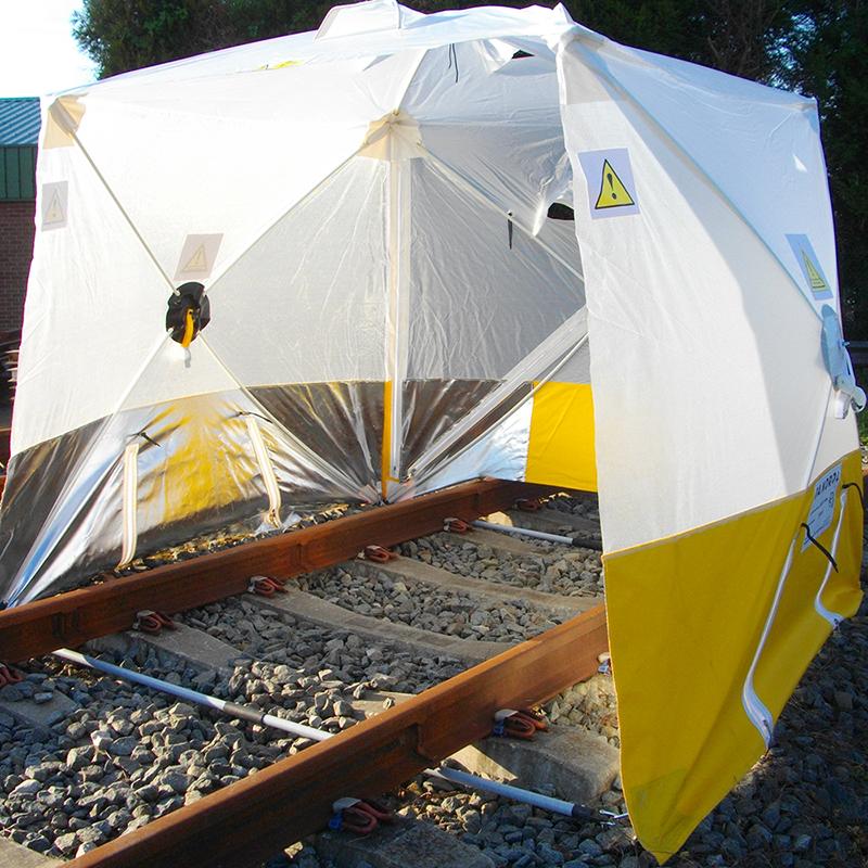 Tente de protection pour soudure