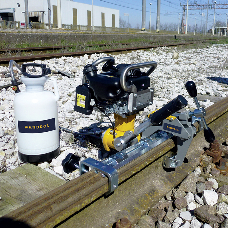 Rail Drilling Machine